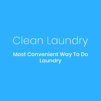 Clean laundry app