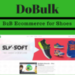 Ecommerce website for shoes