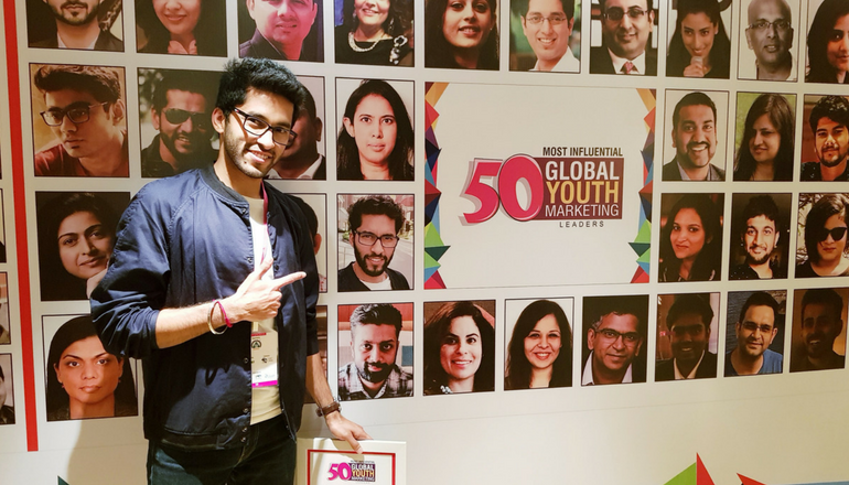 Graffersid Founder wins 50 Most Influential Global Youth Marketing Leader