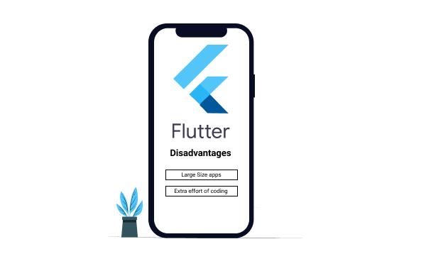 Flutter Disadvantages