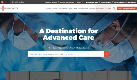 Hospital Management System Dashboard