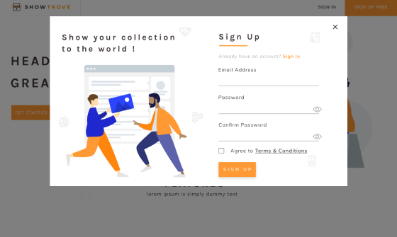 registeration and login