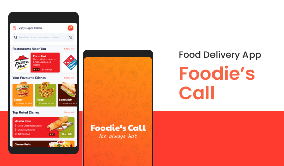 Food Delivery App: Cover Image