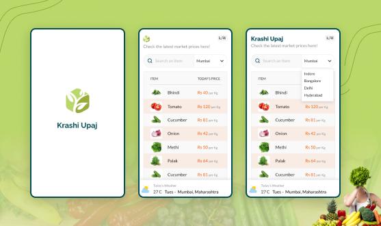 Features Of Mandi App: Krashi Upaj
