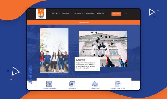 NSHM knowledge campus website
