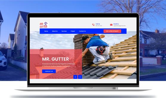 Mr. Gutter Website
