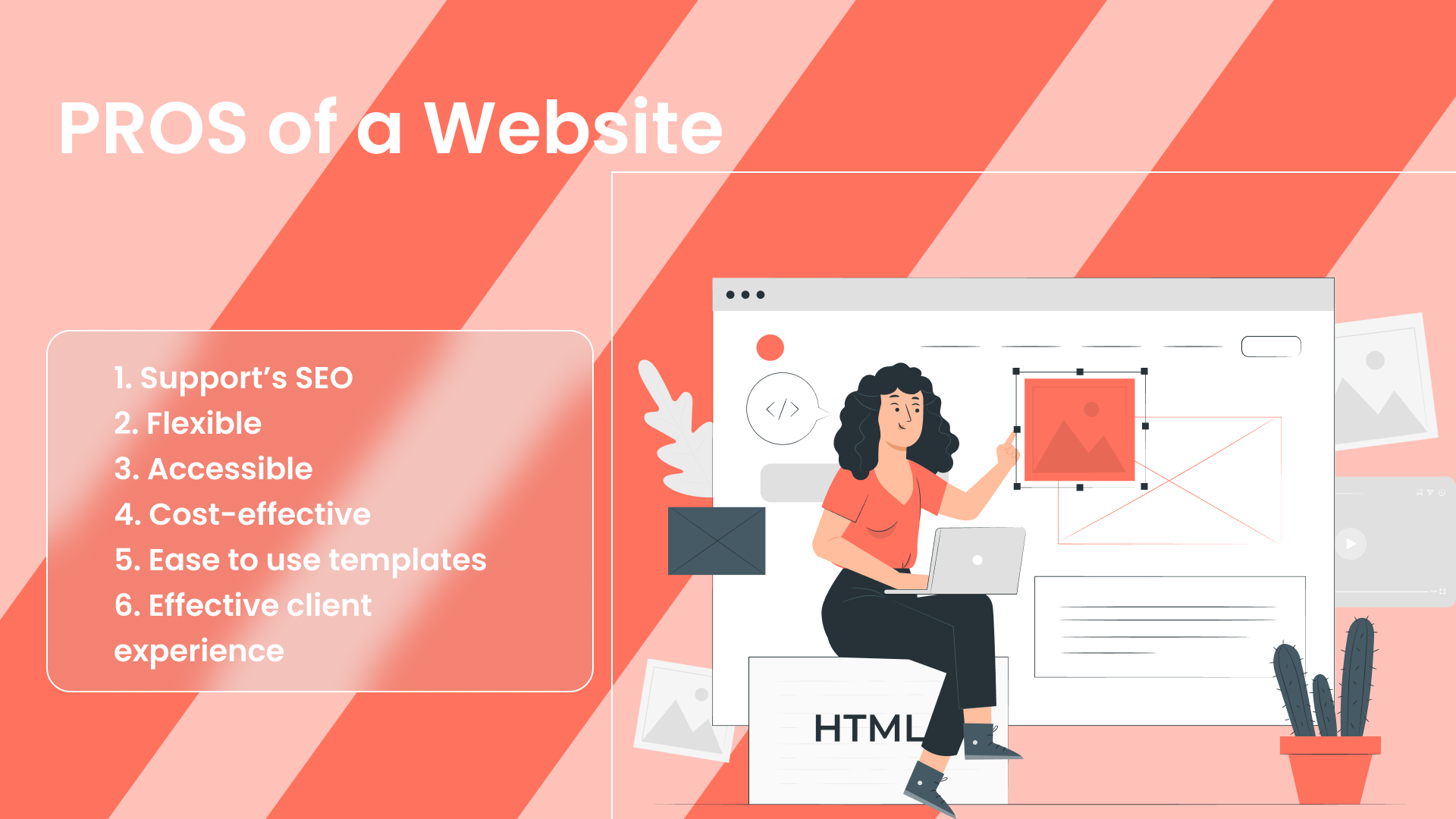 Pros of having website